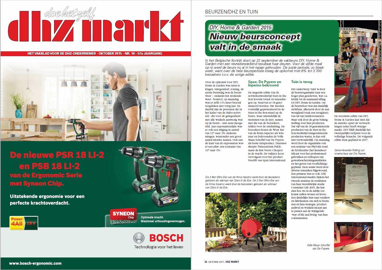 DHZ markt - oktober 2015